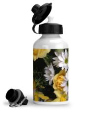 aluminium-sports-water-bottle-spring-flowers-spring-flowers-3-left-side
