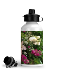 aluminium-sports-water-bottle-summer-flowers-summer-flowers-right-side